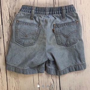 Vintage Levi's orange tab Jean shorts toddler 4